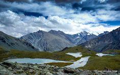Многочисленные малые горные озера Горного Алтая
