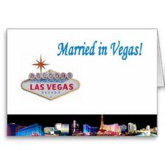 Vegasdusoleil: Gifts: Las Vegas MARRIED: Zazzle.com Store