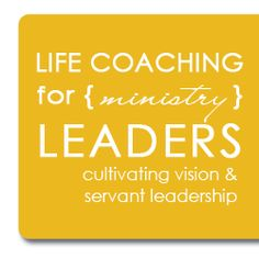 Are you a ministry leader, either online or in real life, working with women, youth, college age groups?  This life coaching package is designed to equip you, encourage you, and enable you to lead effectively for the glory of God!