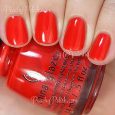 China Glaze The Heat Is On | Summer 2015 Desert Escape Collection | Peachy Polish