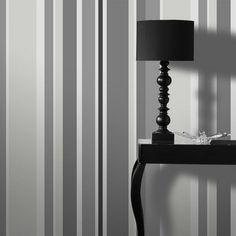Give your walls a fresh lift with the stylish Fresco Rico Stripe Grey Wallpaper from Graham and Brown. This stylish design features alternating stripes in varying widths in dark and light shades of grey. Hang vertically or horizontally for a stunning effect. Buy now for £7.99 per 10m roll from The Range Online.