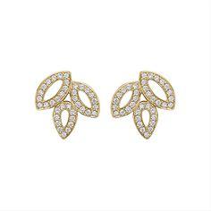 Lily Cluster by Harry Winston, Diamond Earrings