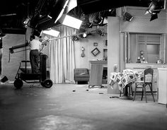 """I Love Lucy set from """"Lucy cries wolf"""""""