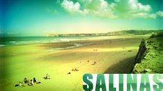 Video of the beach of Salinas, in Asturias, Spain. What makes it so special and why is it so popular? Check the video and see!
