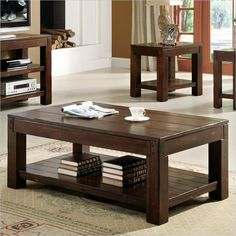Riverside Furniture Castlewood Cocktail Table in Warm Tobacco - 33502 - Lowest price online on all Riverside Furniture Castlewood Cocktail Table in Warm Tobacco - 33502