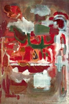 Untitled, 1944 ~ Mark Rothko