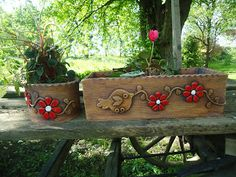 KERAMIKA Z FARY: KVĚTINÁČE Biscuit, Garden Show, Clay Art, Garden Pots, Planter Pots, Creative, Ceramics Ideas, Pottery Ideas, Tile