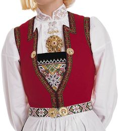 My mother in law made a bunad from Hardanger for my daughter when she was five (see pictures below). It consisted of the west and hat from t. Folk Fashion, Vintage Fashion, Norwegian Clothing, Folk Costume, Costumes, Summer Outfits Women, Loom Patterns, Traditional Outfits, Hardanger