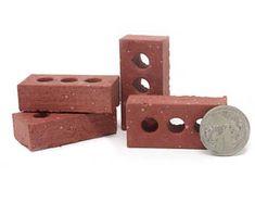 Mini Concrete Blocks and Building Kits di minimaterials su Etsy Modern Dollhouse, Concrete Blocks, Construction Materials, Red Bricks, Collector Dolls, Handmade Design, Boyfriend Gifts, Decoration, Dollhouse Miniatures