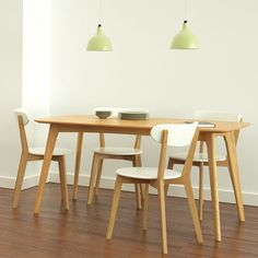 Set of 2 - Oslo Dining Chair - White 14% OFF   $189.00 - Milan Direct