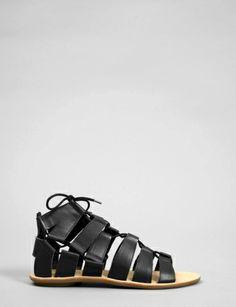 skye gladiator lace-up sandal