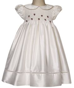 Baby Girls Special Occasion Silk Dress
