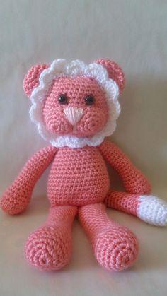 Crochet projects / Crochet Floppy Lion Crochet Baby Toys, Crochet Toys Patterns, Crochet Teddy, Crochet Bear, All Free Crochet, Stuffed Animal Patterns, Crochet For Kids, Crocheted Toys, Crochet Crafts