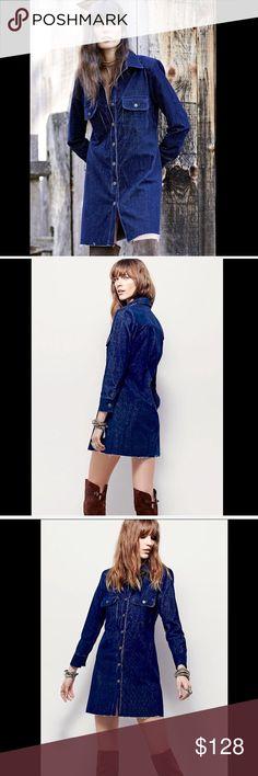 Selling this Free People navy blue Washed Corduroy Dress Coat M on Poshmark! My username is: richbororiches. #shopmycloset #poshmark #fashion #shopping #style #forsale #Free People #Jackets & Blazers