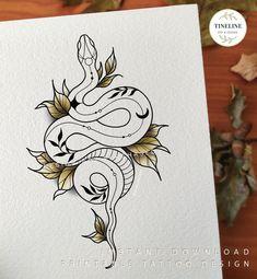 Vine Tattoos, Cover Up Tattoos, Leaf Tattoos, Body Art Tattoos, Small Tattoos, Sleeve Tattoos, Tatoos, Snake And Flowers Tattoo, Black Snake Tattoo