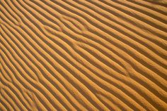 Sand Patterns - created by the wind - coral pink sand dunes (Utah USA)