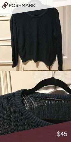 Brandy Melville forest green Ollie sweater I think this is the Ollie sweater. Correct me if I'm wrong. Great condition. No pilling. Rare color! Brandy Melville Sweaters Crew & Scoop Necks