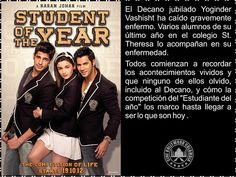 Cine Bollywood Colombia: STUDENT OF THE YEAR