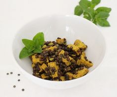 Tempeh with Lentils