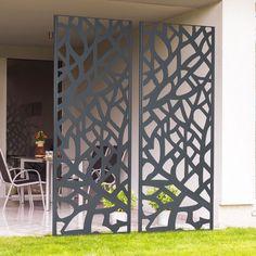 Sculpture Art, Sculptures, Brande, Metal Fence Panels, Dream Garden, Plant Decor, Wall Decor, Plants, Outdoor