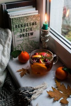 Autumn tea. Hot tea. Styling the seasons