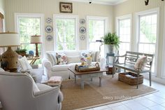 Savvy Southern Style: Refreshed Sun Room