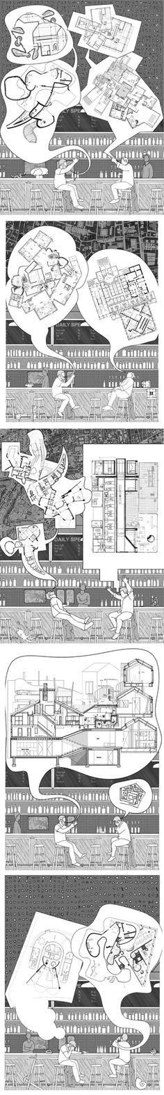 #arquitectura #dibujos #plantas #secciones