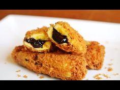 Cara Membuat Pisang Goreng Krispy Isi Coklat Lumer - YouTube