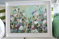 Paintings For Sale, Original Paintings, Original Art, Contemporary Art For Sale, Floral Artwork, Acrylic Art, Painting Frames, Home Art, Flower Art
