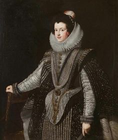 Isabella of Bourbon (1603–1644) by Diego Velázquez (school of) Date painted: c.1620