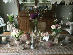 Frühlingstischdeko selbst gemacht