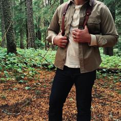 """Taylor Stitch Highlands shirt in the wild. We still have some of these classic shirts left in the shop!!"""