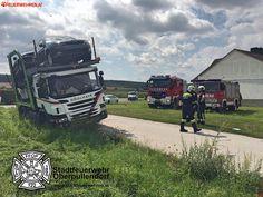 Freiwillige #Feuerwehr Oberpullendorf: LKW-Bergung #truck #firemen #firefighter