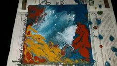 Original fluid acrylic by me:Michelle Burk