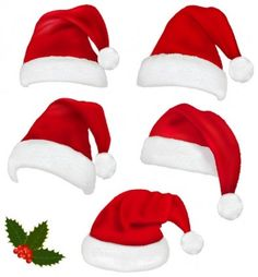Christmas Hat Vector Santa Hat Vector Christmas Hat Hat Vector