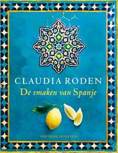Het onlangs verschenen boek van Claudia Roden, winnaar Johannes van Dam prijs 2012. Voor meer informatie kijk op: http://www.fontaineuitgevers.nl/wp/wp-content/uploads/De-smaken-van-Spanje.jpg