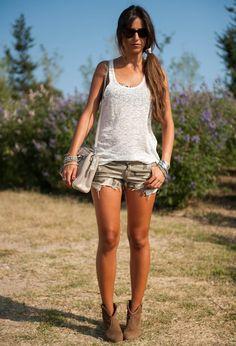 Shorts camuflaje