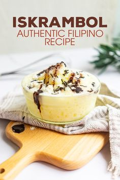 This easy Iskrambol (Ice Scramble) recipe is an authentic Filipino dessert made of shaved ice, sugar, condensed milk, and pineapple syrup! It's a sweet and refreshing frozen treat that kids and adults will love! Filipino Desserts, Filipino Recipes, Filipino Street Food, Cold Snacks, Pineapple Syrup, Ice Milk, Pink Food Coloring, Strawberry Syrup