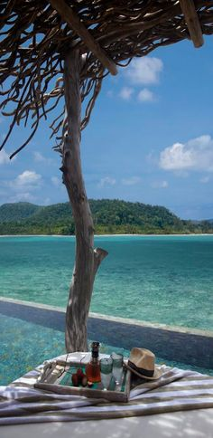 Song Saa private island resort, Cambodia In the warm sapphire waters of the Gulf of Thailand, Cambodia's islands nestle like dazzling natural jewels. Song Saa Private Island lies secluded in this. The Places Youll Go, Places To See, Infinity Pool, Das Hotel, Island Resort, All Inclusive Resorts, Island Life, Big Island, Spas