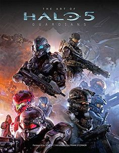 The Art of Halo 5: Guardians by Microsoft. In Halo 5: Guardians, game developer 343 Industries continues to enthrall fans worldwide with the exploits of the legendary Spartan super soldier, the Master Chief, as well as new characters in the Halo® universe, including Agent Jameson Locke and others. This deluxe art book chronicles the creative and breathtaking art of the worlds, vehicles, and characters of Halo 5: Guardians, with exclusive details behind the creation of returning characters...