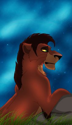 Teen Taka/Scar (Ahadi and Uru's youngest son/Mufasa's younger brother)