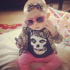 Punk Rock Baby Girl