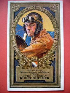 J.C. Leyendecker, Kuppenheimer Style Booklet cover, 1917, 1918.