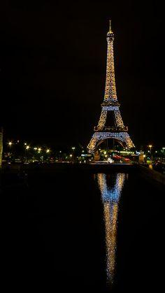 Paris, France ~ Eiffel Tower Reflection by Raoul De Winne on 500px