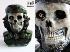 """DONP-CHE """"El Muerto"""" CHE KOZIK BUST is super cool! Mad details on this bust :)"""