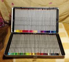 Marco raffiné 72 lápis de cor - profissional - caixa de ferro Aliexpress.com