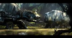 AT-AT Swamp   By Richard Lim