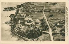 Gaspe from the Air, 1927