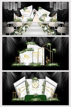 White marble light luxury European wedding effect picture Indoor Wedding Decorations, Backdrop Decorations, Rustic Backdrop, Wedding Mandap, Marquee Wedding, Wedding Receptions, Wedding Table, Wedding Ideas, Wedding Backdrop Design