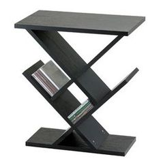 Adesso Zig-Zag Accent Table, Black $59.00 #bestseller